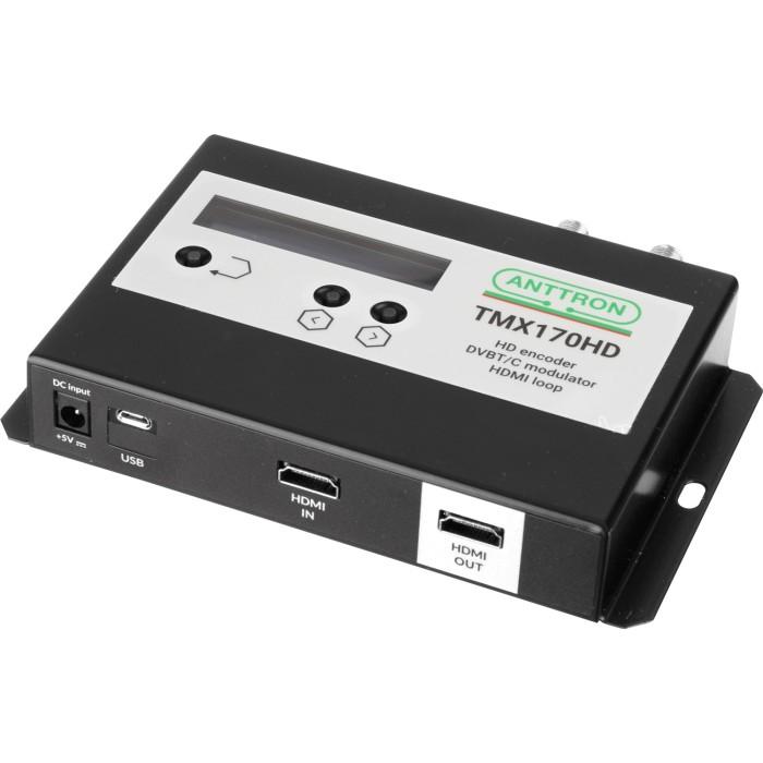 Anttron TMX170HD - HDMI Modulator DVB-T/C Modulator Audio - Video Onetrade