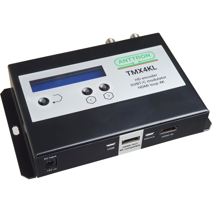Anttron TMX4KL - HDMI Modulator DVB-T/C Modulator Audio - Video Onetrade