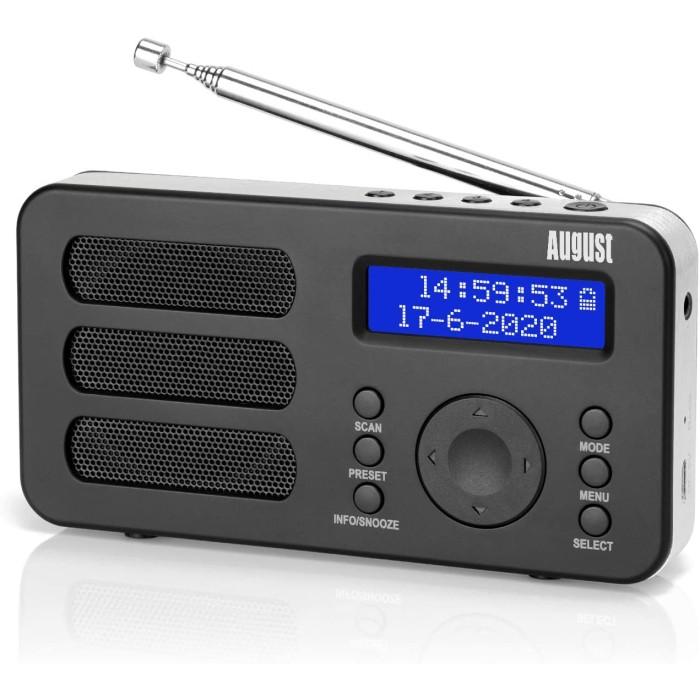 August MB225 - Φορητό DAB+ FM Ραδιόφωνο Ασύρματα Ηχεία Onetrade