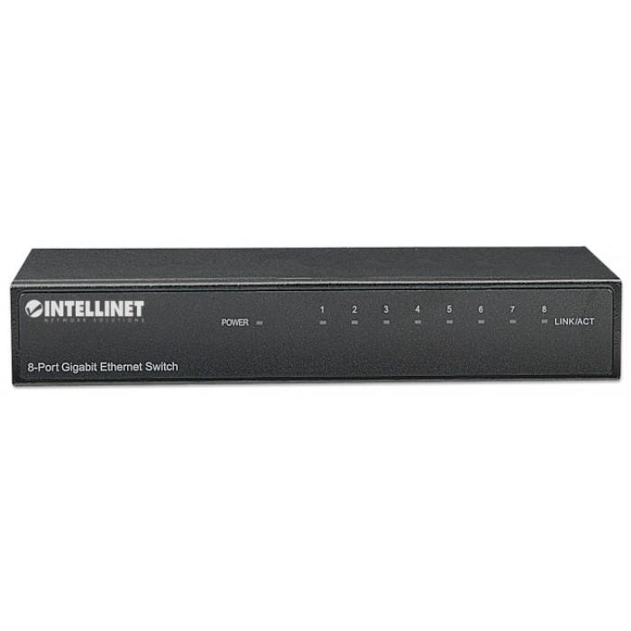 INTELLINET I-SWHUB GB-800 - 8 Εισόδων Gigabit Ethernet Switch Ethernet Switches Onetrade