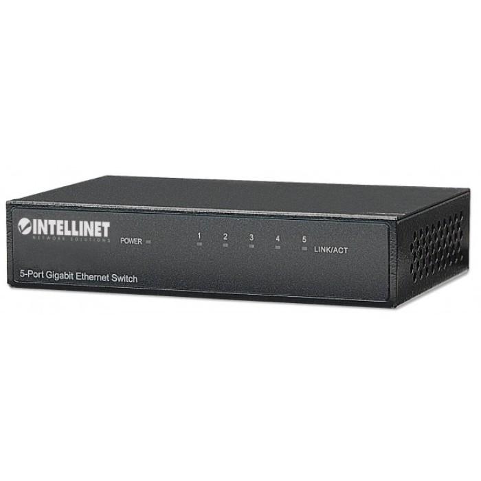 INTELLINET I-SWHUB GB-500 Gigabit - Switch Ethernet 5 Εισόδων Ethernet Switches Onetrade