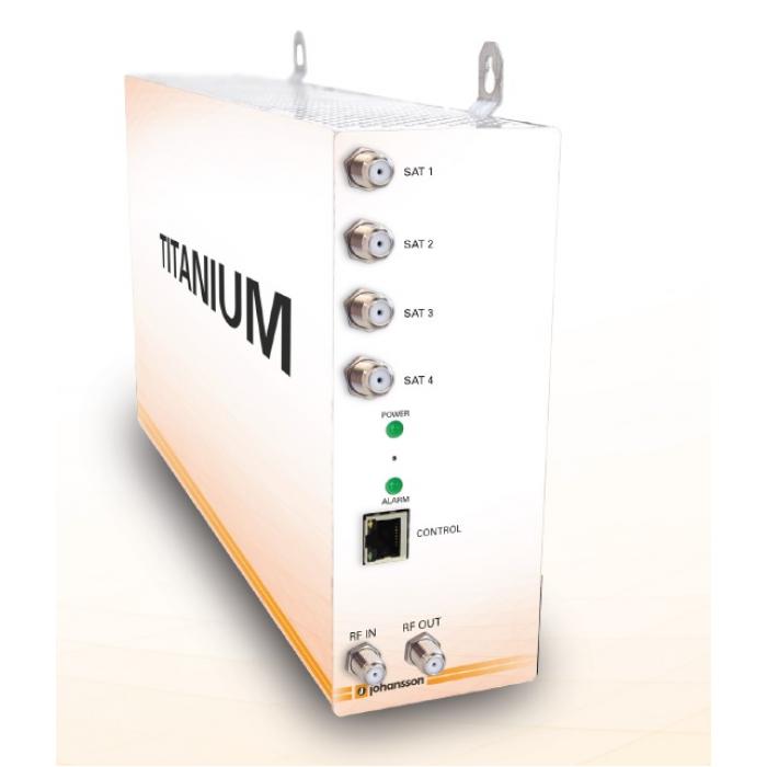 Johansson 8700 Titanium 4 - DVB-T/C Digital Compact Κεφαλές Onetrade