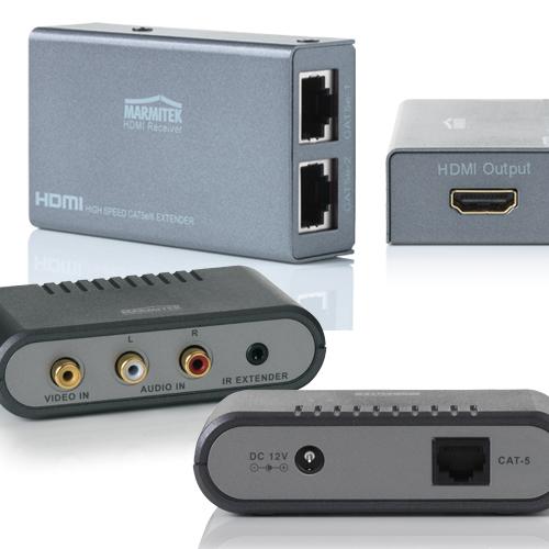 Πίνακας σύγκρισης των Marmitek προϊόντων προέκτασης HDMI