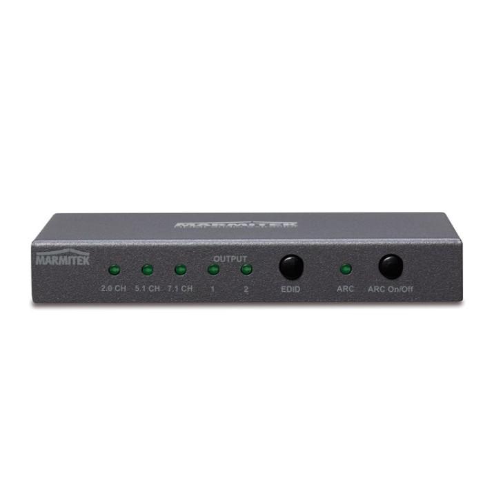 Marmitek Connect AE24 UHD 2.0 - HDMI 4K διαχωριστής ήχου Converters HDMI / ΗΧΟΥ Onetrade
