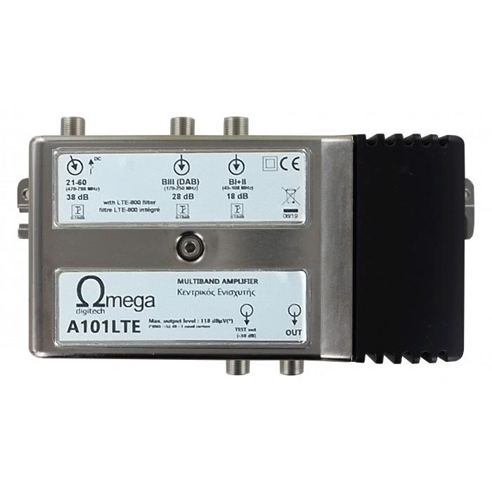 Ωmega Digitech A101LTE - Κεντρικός Ενισχυτής Ενισχυτές Onetrade