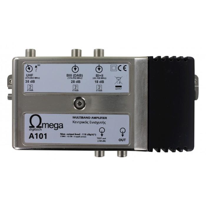 Ωmega Digitech A101 - Κεντρικός Ενισχυτής Ενισχυτές Onetrade