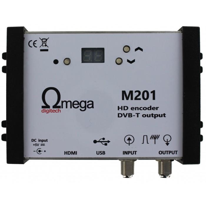 Ωmega Digitech M201 - HDMI Modulator Modulator Audio - Video Onetrade