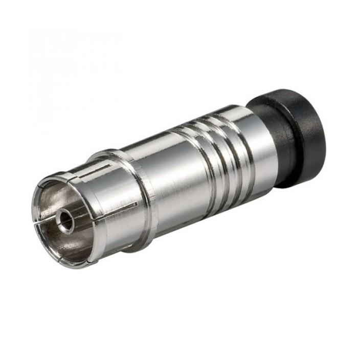 IEC Θηλυκό - RF Connector Συμπίεσης Βύσματα Onetrade