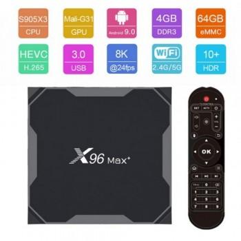 X96 Max - Android 9.0 8K 4/64 TV Box