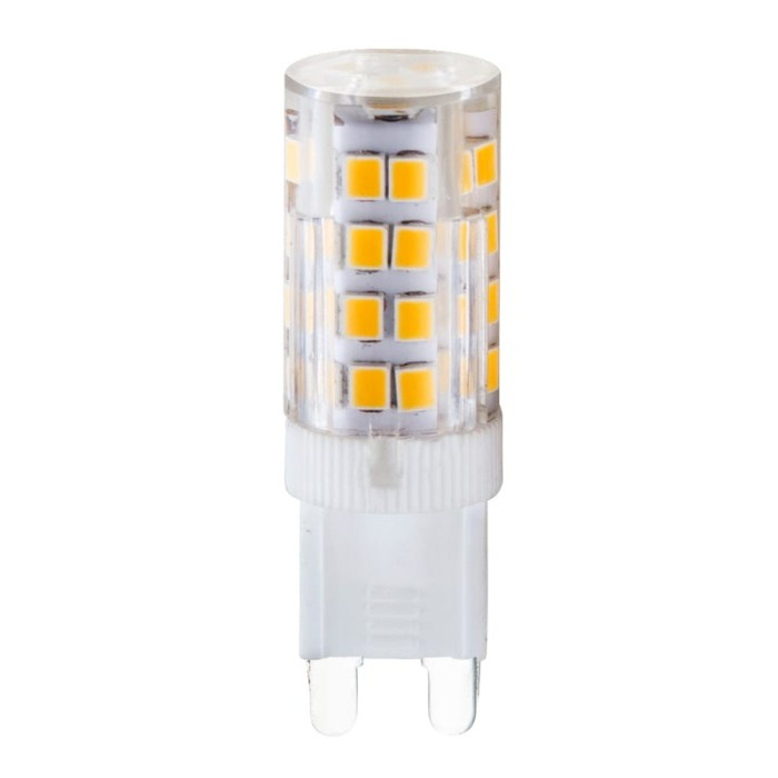Redled Λάμπα - LED G9/4.5W/3000K/Θερμό Ceramic+Pc Λάμπες
