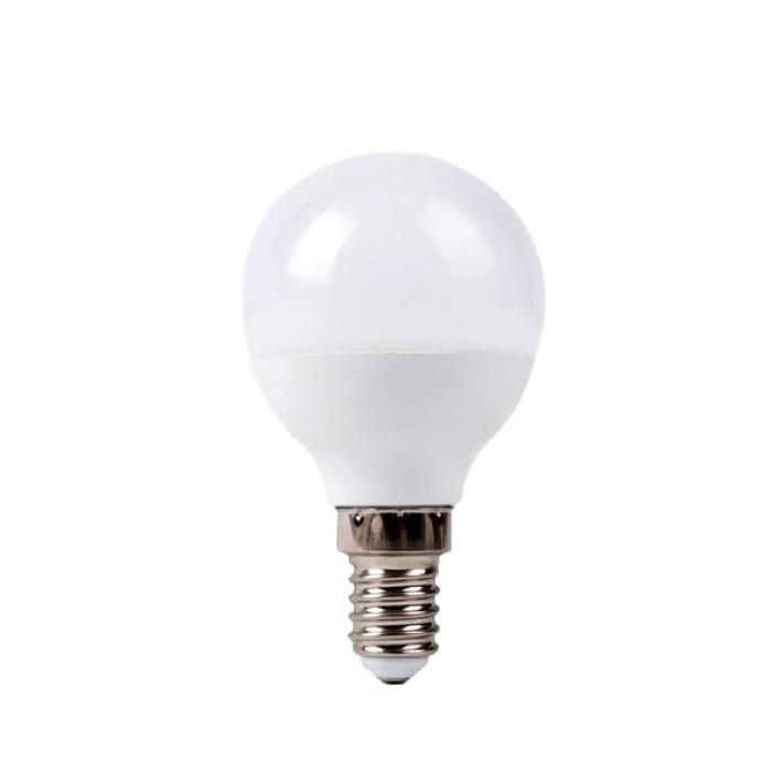 Redled Σφαιρική Λάμπα - VALUE LED Ε14/6W/6500K/Ψυχρό Λάμπες