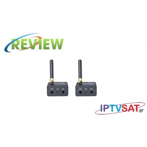 Techly IDATA HDMI-WL88: Ασύρματη επέκταση τηλεχειρισμού στα 200μ Κριτική
