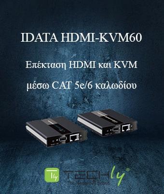 Techly IDATA HDMI-KVM60