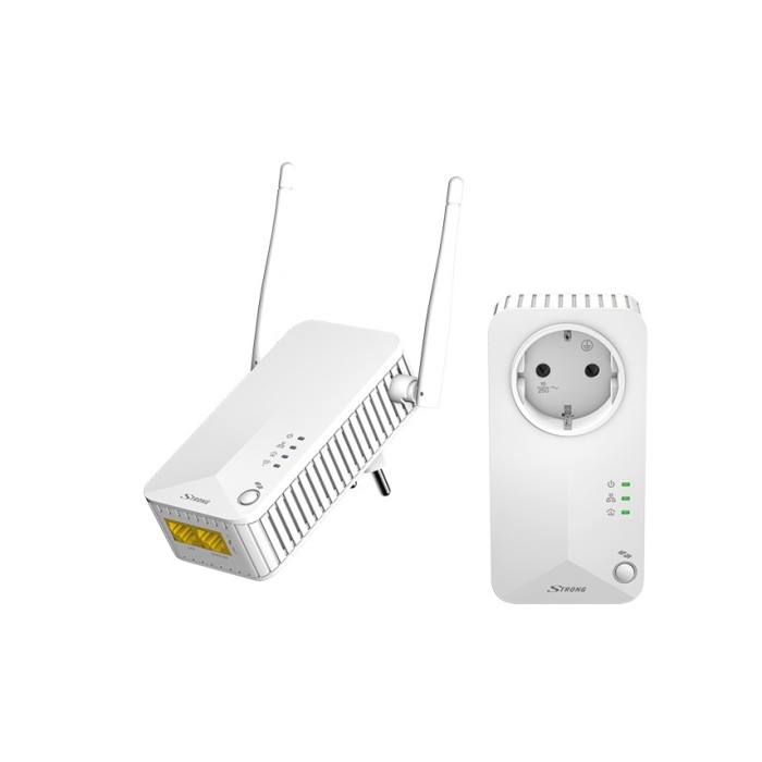 Strong Powerline Wi-Fi 500 Kit Μεταφορά μέσω ρεύματος Onetrade