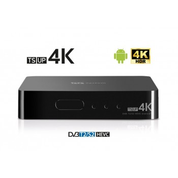 TELE System TS UP 4K - Smart Box Android DVB-T2/S2