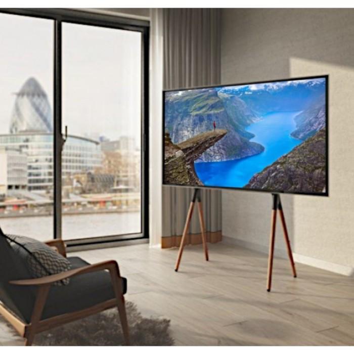 "Techly ICA-TR19 - Βάση Δαπέδου στυλ Τρίποδο για Τηλεόραση LCD / LED / Plasma 49-70"" Βάσεις TV Onetrade"