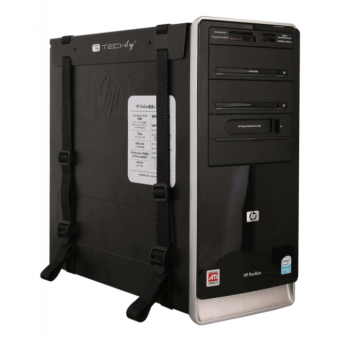 Techly ICA-CS 60 - Βάση για PC Under Desk Αξεσουάρ υπολογιστών Onetrade