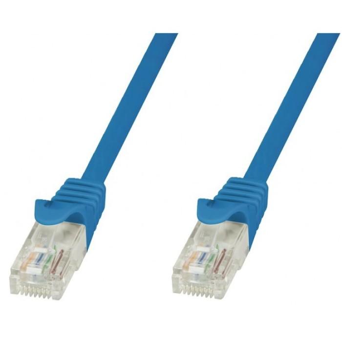 Techly ICOC CCA6U-005-BLT - Μπλε Καλώδιο Patch Δικτύου 0.5m Καλώδια Onetrade
