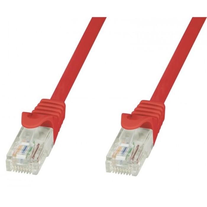Techly ICOC CCA6U-020-RET - Κόκκινο Καλώδιο Patch Δικτύου 2m Καλώδια Onetrade