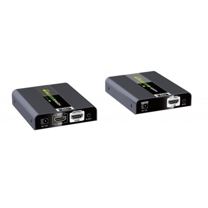Techly IDATA EXT-E704K2 - Επέκταση HDMI 4K UHD 3D και RC Ενσύρματη Αναμετάδοση HDMI Onetrade