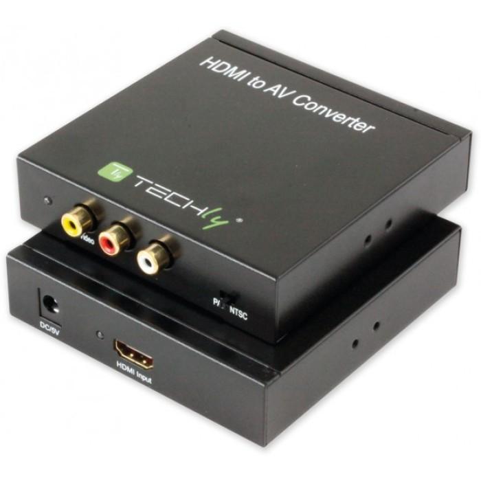 Techly IDATA SPIDF-4 - Μετατροπέας HDMI σε 3 x RCA  Converters HDMI / ΗΧΟΥ Onetrade