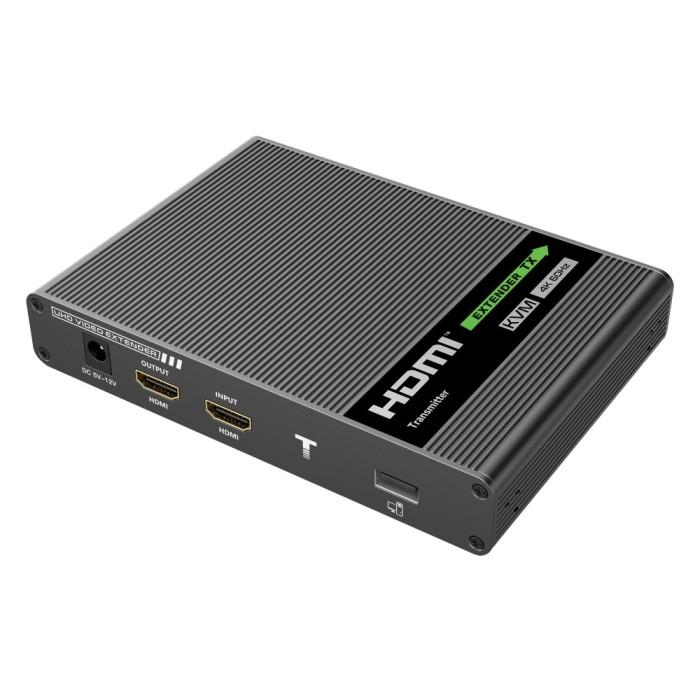 Techly IDATA HDMI-KVM67 - 4K Επέκταση HDMI KVM 70m Ενσύρματη Αναμετάδοση HDMI Onetrade