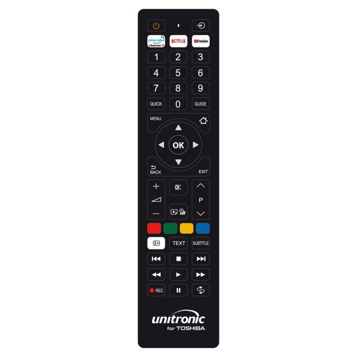 Unitronic 1705 - Χειριστήριο Αντικατάστασης Για Toshiba Τηλεχειριστήρια Onetrade