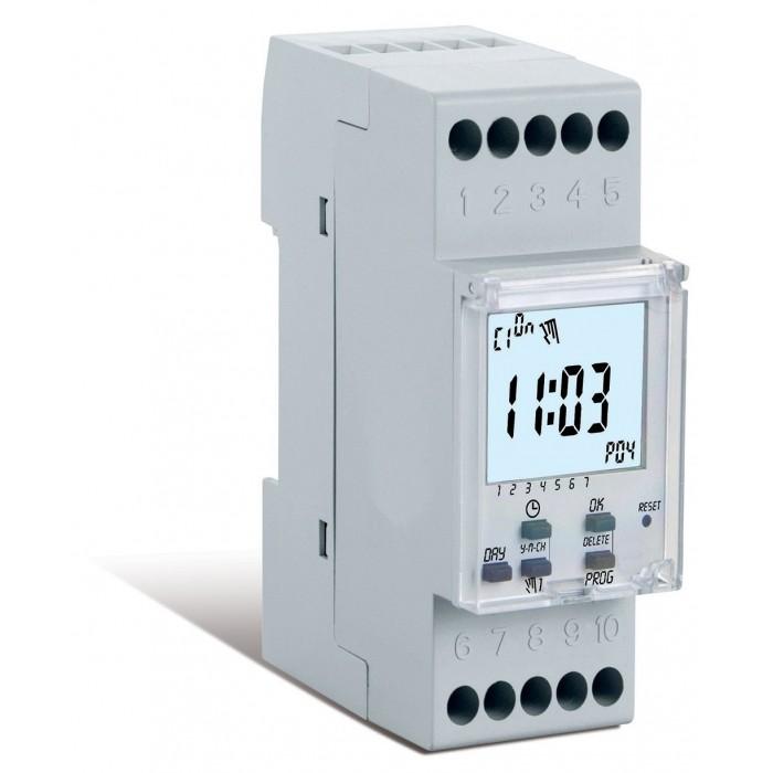 Εβδομαδιαίος Ψηφιακός Χρονοδιακόπτης - 2 DIN 1IO7081 Χρονοδιακόπτες Onetrade
